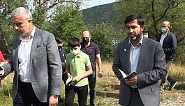 (ÖZEL) Kur'an-ı Kerim ve dua ile 28.5 kilometre yaya yürüdüler