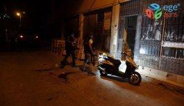 Bornova da Feci Olay Gece Yarısı Ev Bastı,  2 Ağır Yaralı