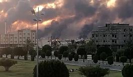 Suudi Arabistan'da SİHA'lar Saudi Aramco'yu vurdu