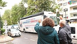 Aydın'da Cumhuriyet Otobüsü, 29 Ekim'i...