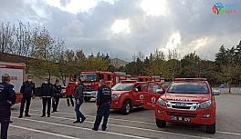 Ege'deki yardım ekipleri İzmir depremi...