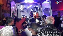 İzmir'de yangın: 1'i ağır 2 yaralı