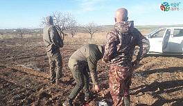 Şanlıurfa'da kaçak avlanan 4 kişi...