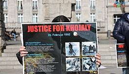 Almanya'da Hocalı Katliamı kurbanları...