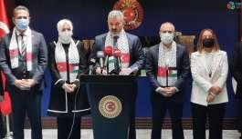 TBMM Türkiye-Filistin Dostluk Grubundan...