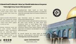 Uşak Üniversitesi, İsrail'in Mescid-i...