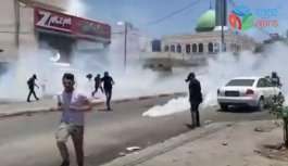 İsrail güçlerinden Nablus'ta Filistinli...