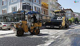 Kütahya'da cadde ve sokaklar yenileniyor