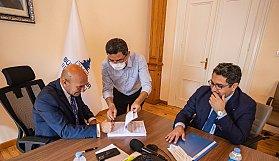 Gaziemir'de Birinci Etap İçin İmzalar Atıldı