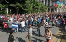 Küba'da protestolar sürüyor: Her şeyin sorumlusu ABD