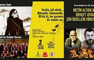 Sivas Katliamı'nın 28. yıldönümünde iki şairin...