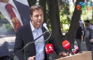 CHP İZMİR'İN BAYRAMLAŞMASINDA SEÇİM MESAJLARI:...