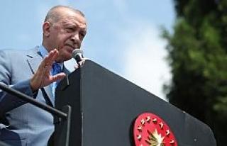 Cumhurbaşkanı Erdoğan: Tank palet fabrikası devletin...