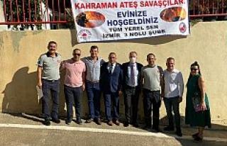İzmir Tüm Yerel-Sen Şubesinden İtfaiye Ateş Savaşçıları...