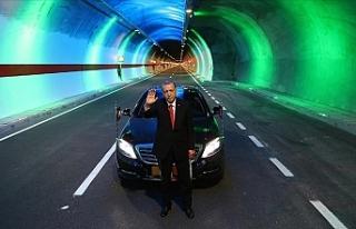 19 yılda 567 kilometre uzunluğunda 364 tüneli hizmete...