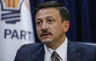 AK Partili Dağ'dan muhalefetin 'erken seçim'...