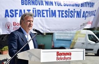 """Başkan İduğ: """"Bornova'da yol sorunu kalmayacak"""""""