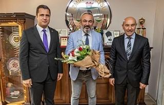Başkan Soyer ve Yücel'den İzmir Barosu'na...