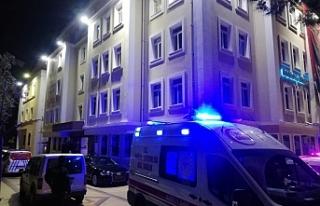 Bornova Belediyesi binasında intihar girişimi