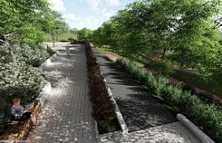 Büyükşehir Körfez Mahallesi'ne park yapıyor