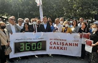 CHP'li Yücel'den iktidara '3600 ek gösterge'...