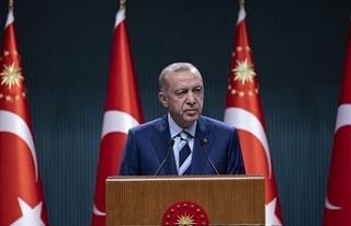 Erdoğan'dan o eylemlere tepki: Bir kısmı öğrenci...