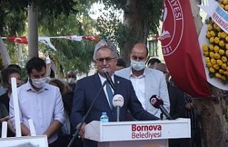 Gazeteci Ziynet Sertel anısına park açılışı...