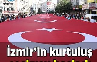 İzmir'in kurtuluş coşkusu başladı