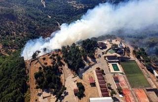 Karşıyaka'daki yangın kontrol altında: 5...