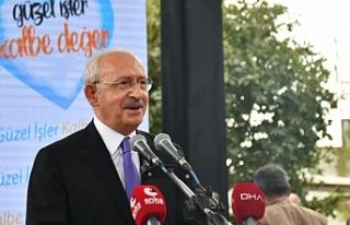 Kılıçdaroğlu'ndan Başkan Batur'a övgü:...