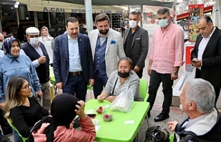AK Partili Kaya: İzmirli hemşehrilerimizden köşe...