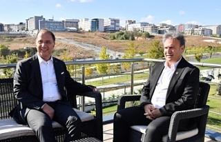 Başkan İduğ'dan İstanbul'da yerinde...