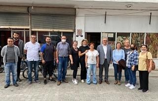 CHP Gaziemir'den esnafa 'yanınızdayız'...