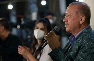 Erdoğan: Bizimki Teknofest kuşağı