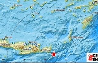 Girit Adası'nda 6,3 büyüklüğünde deprem!...