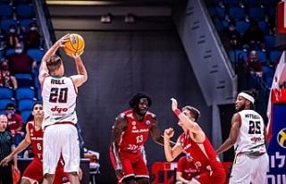 Kaf-Kaf son saniye basketiyle İsrail ekibini yendi