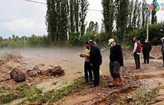 Kütahya ve ilçelerinde sel felaketi