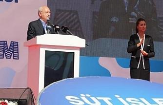 Kılıçdaroğlu o fabrikanın temelini attı, açılış tarihini de verdi!