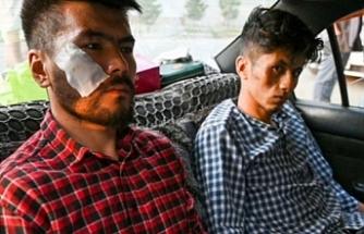 Taliban iki gazeteciyi feci şekilde darp etti