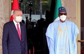 Cumhurbaşkanı Erdoğan'dan Nijerya'da açıklamalar